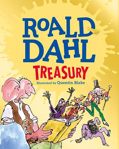 The Roald Dahl Treasury - Jacket