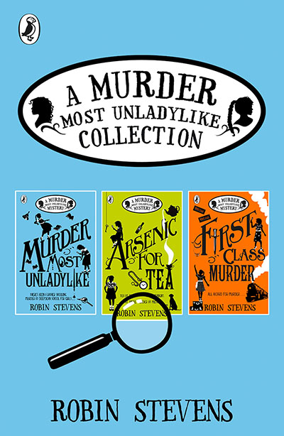 A Murder Most Unladylike Collection: Books 1, 2 and 3 - Jacket