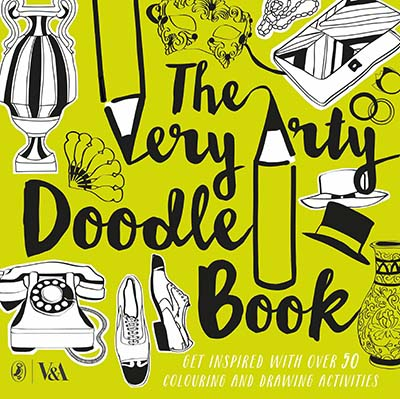 The Very Arty Doodle Book - Jacket