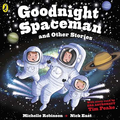 Goodnight Spaceman and Other Stories - Jacket