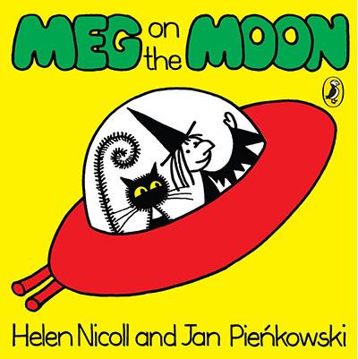 Meg on the Moon - Jacket