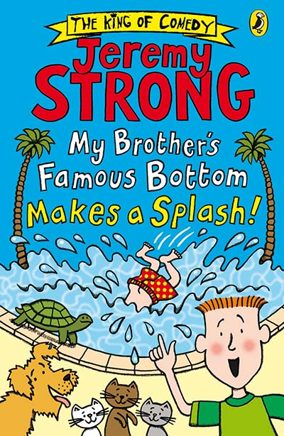 My Brother's Famous Bottom Makes a Splash! - Jacket