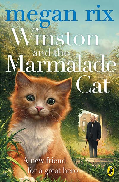 Winston and the Marmalade Cat - Jacket
