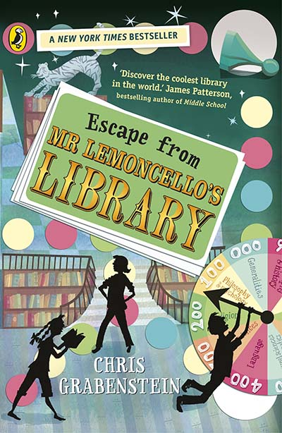 Escape from Mr Lemoncello's Library - Jacket