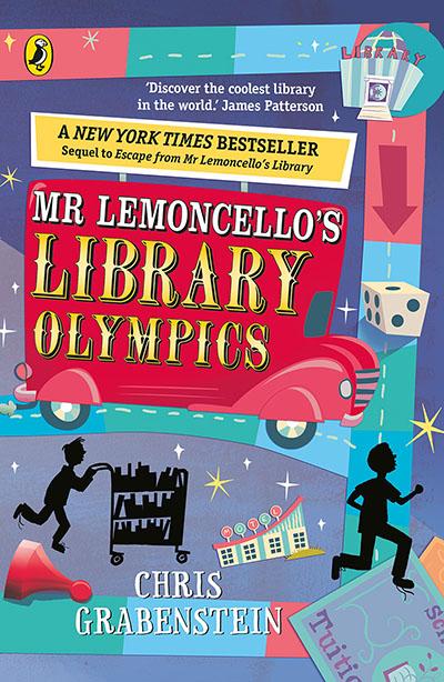 Mr Lemoncello's Library Olympics - Jacket