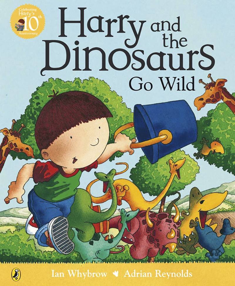 Harry and the Dinosaurs Go Wild - Jacket