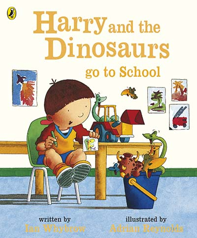 Harry and the Dinosaurs Go to School - Jacket