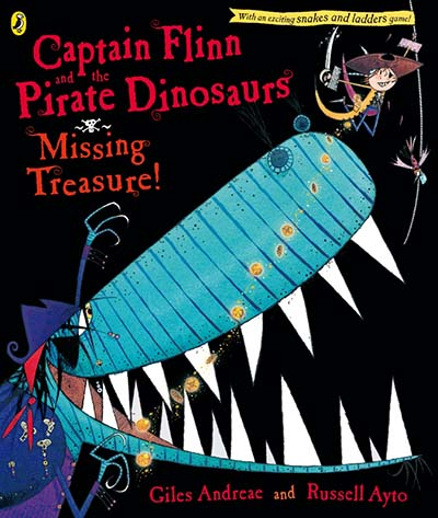 Captain Flinn and the Pirate Dinosaurs: Missing Treasure! - Jacket