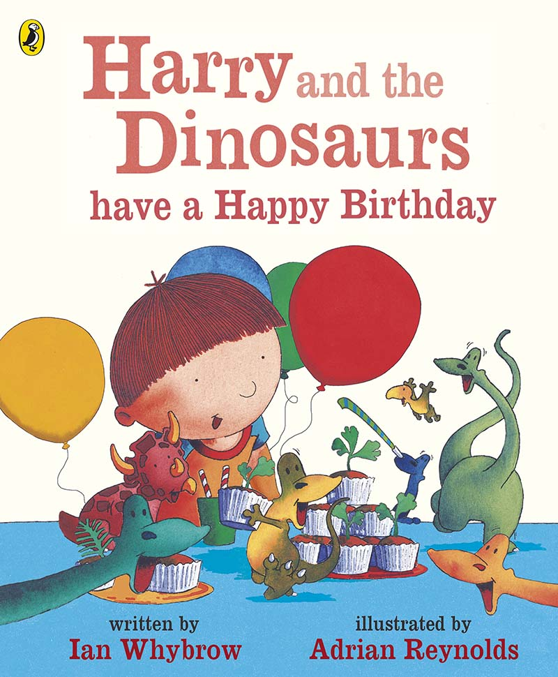 Harry and the Dinosaurs have a Happy Birthday - Jacket