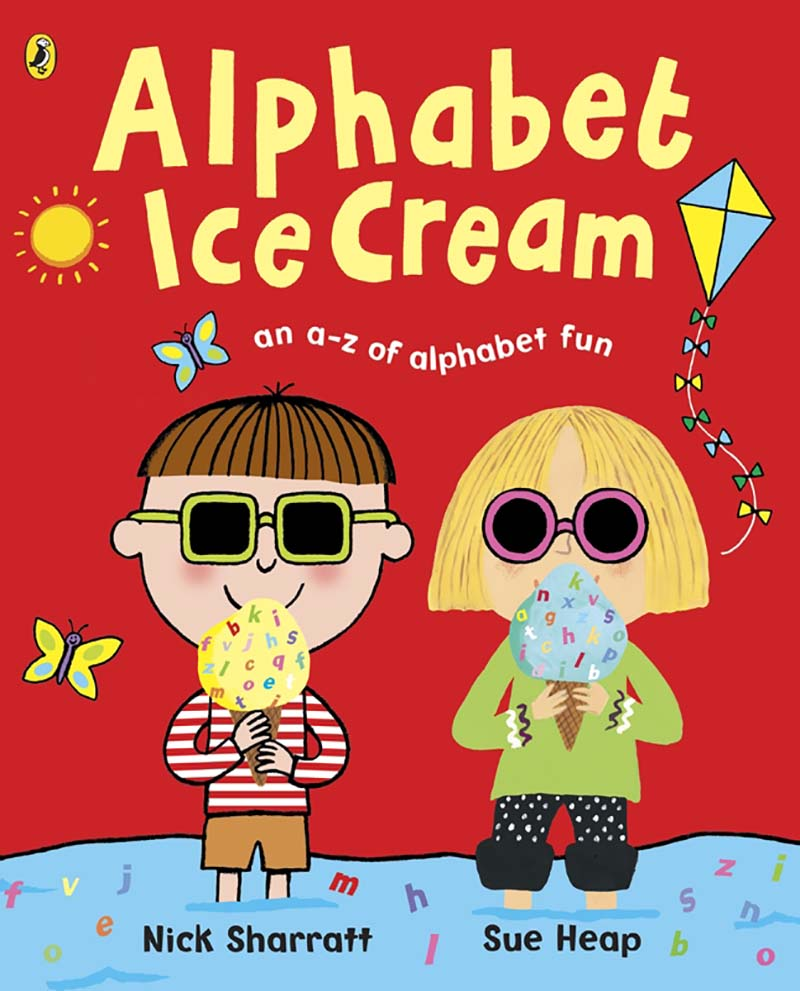 Alphabet Ice Cream - Jacket