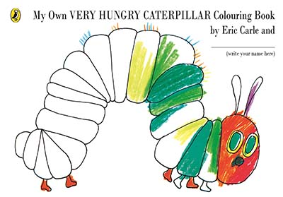 My Own Very Hungry Caterpillar Colouring Book - Jacket