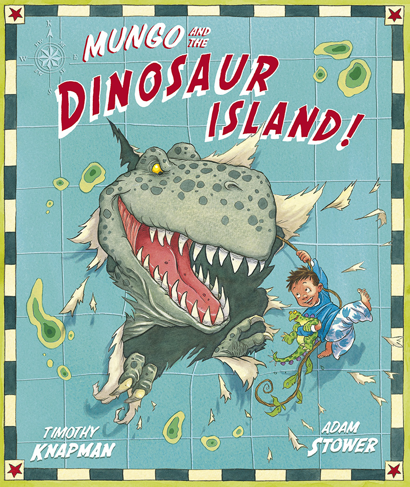 Mungo and the Dinosaur Island - Jacket