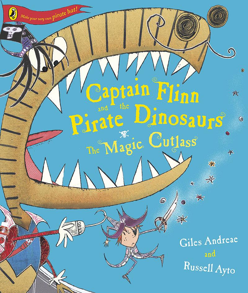Captain Flinn and the Pirate Dinosaurs - The Magic Cutlass - Jacket