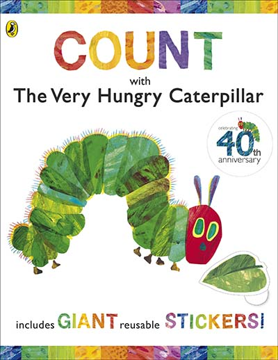 Count  with the Very Hungry Caterpillar (Sticker Book) - Jacket