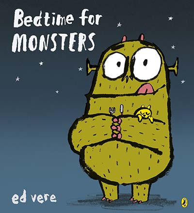 Bedtime for Monsters - Jacket