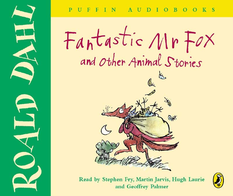 Fantastic Mr Fox and Other Animal Stories - Jacket