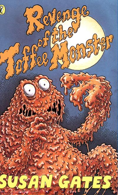 Revenge of the Toffee Monster - Jacket