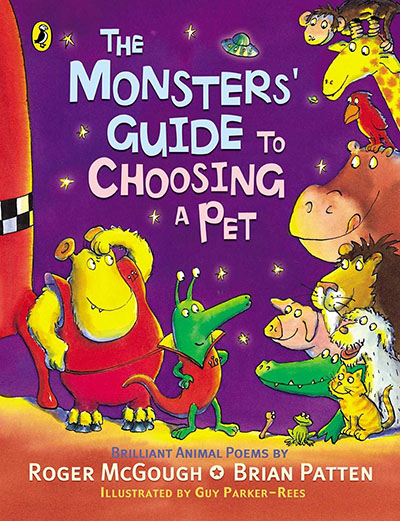 The Monsters' Guide to Choosing a Pet - Jacket