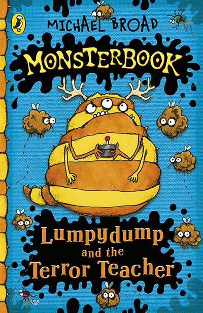 Monsterbook: Lumpydump and the Terror Teacher - Jacket
