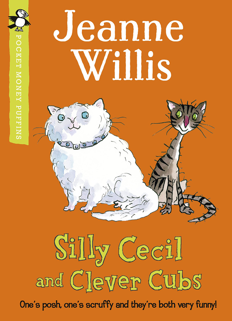 Silly Cecil and Clever Cubs (Pocket Money Puffin) - Jacket
