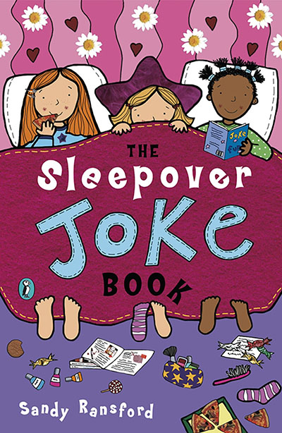 The Sleepover Joke Book - Jacket