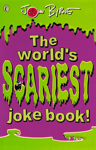 The World's Scariest Jokebook - Jacket