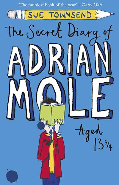 The Secret Diary of Adrian Mole Aged 13 ¾ - Jacket