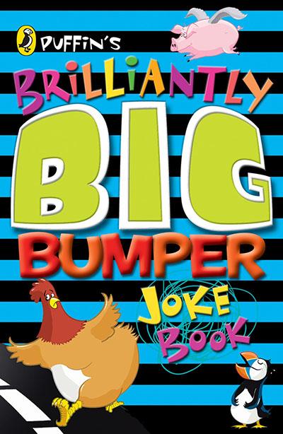 Puffin's Brilliantly Big Bumper Joke Book - Jacket