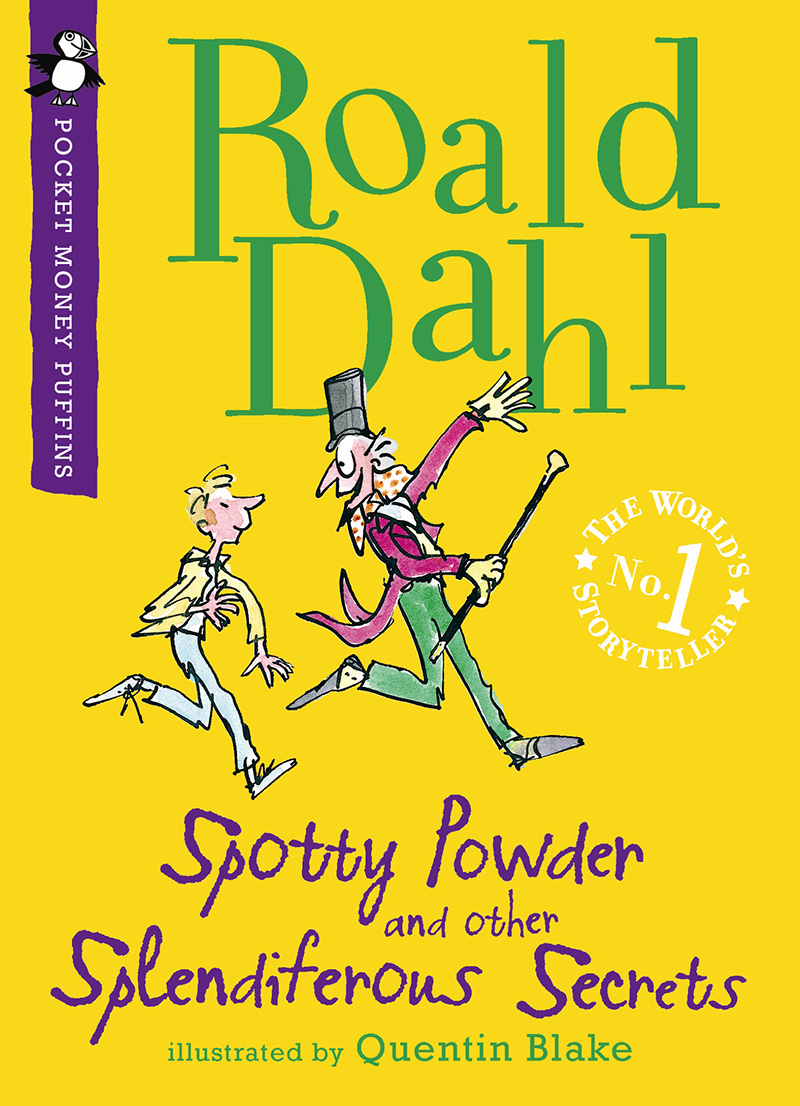 Spotty Powder and other Splendiferous Secrets - Jacket