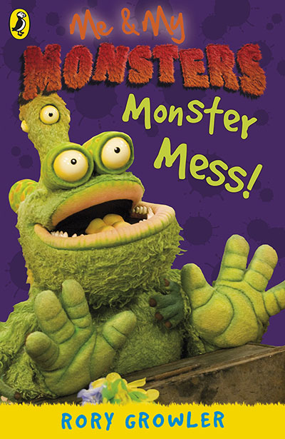 Me And My Monsters: Monster Mess - Jacket