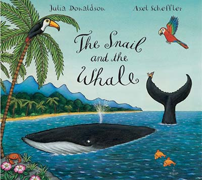 The Snail and the Whale Big Book - Jacket
