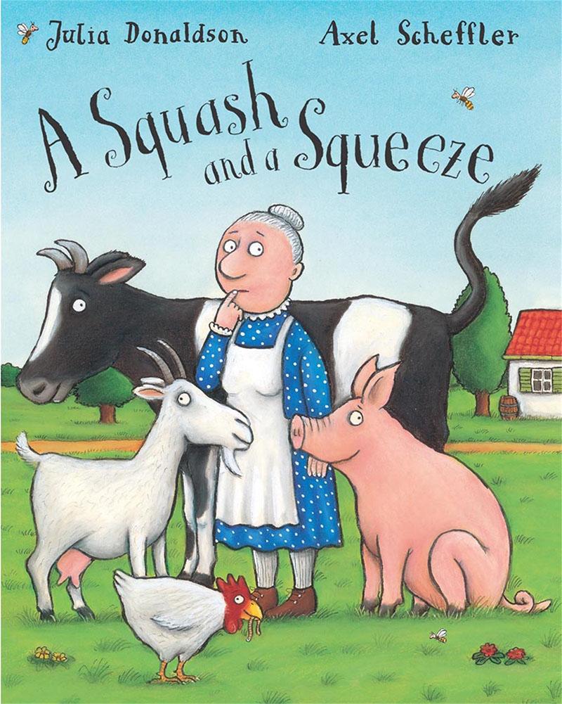 A Squash and a Squeeze Big Book - Jacket