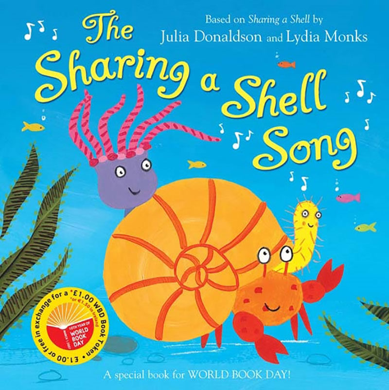 The Sharing a Shell Song - Jacket