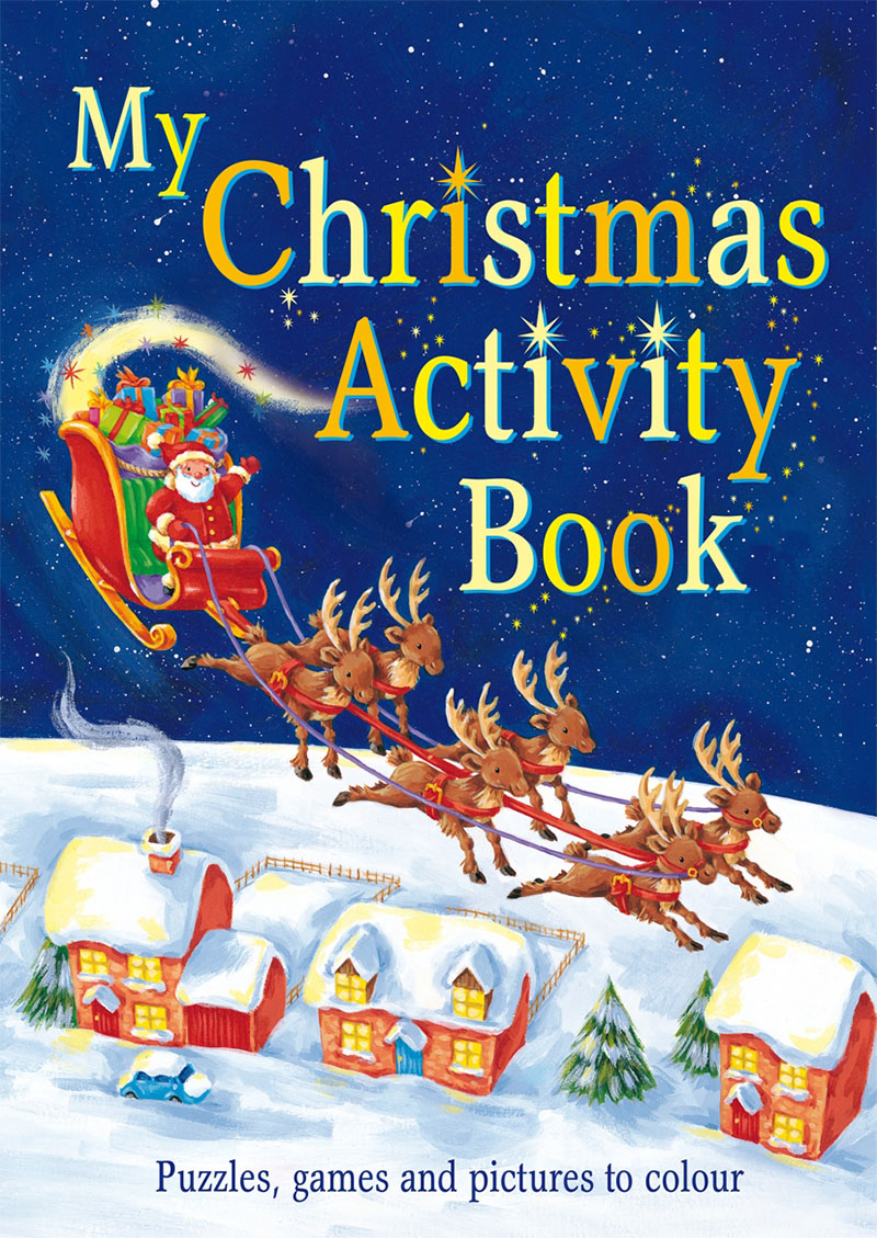 My Christmas Activity Book - Jacket