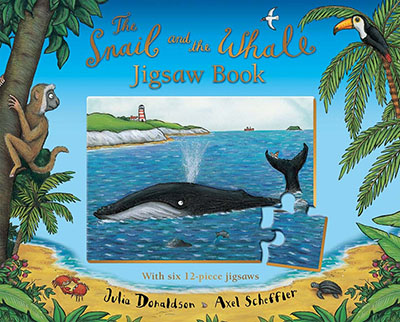 The Snail and the Whale Jigsaw Book - Jacket