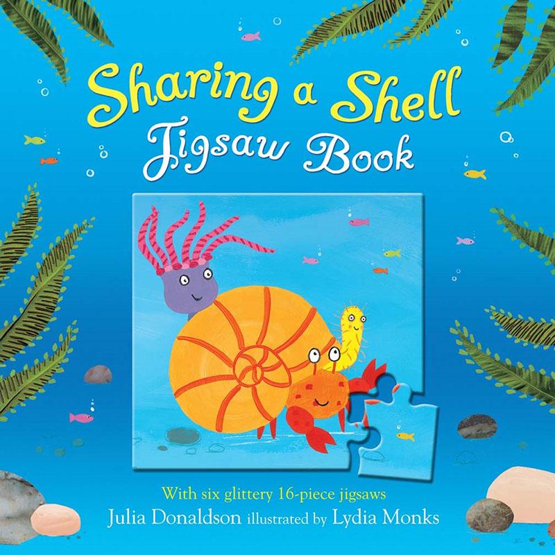 Sharing a Shell Jigsaw Book - Jacket