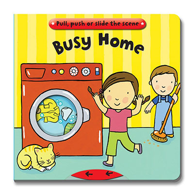 Busy Books: Busy Home - Jacket