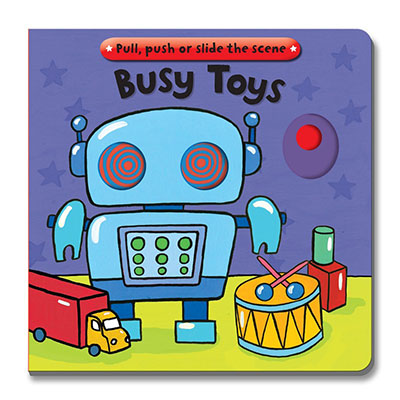 Busy Books: Busy Toys - Jacket