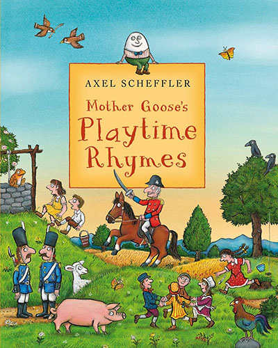 Mother Goose's Playtime Rhymes - Jacket
