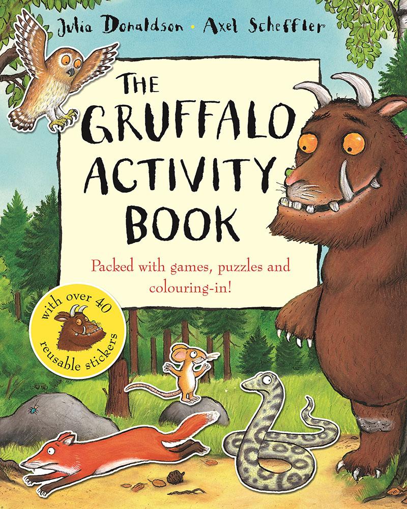 The Gruffalo Activity Book - Jacket