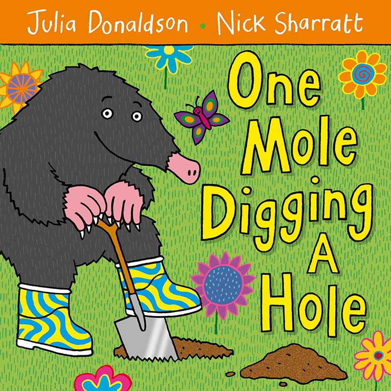 One Mole Digging A Hole - Jacket