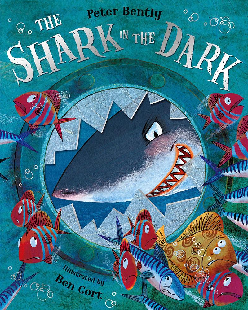 The Shark in the Dark - Jacket