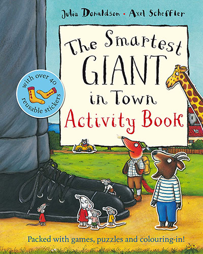 The Smartest Giant in Town Activity Book - Jacket