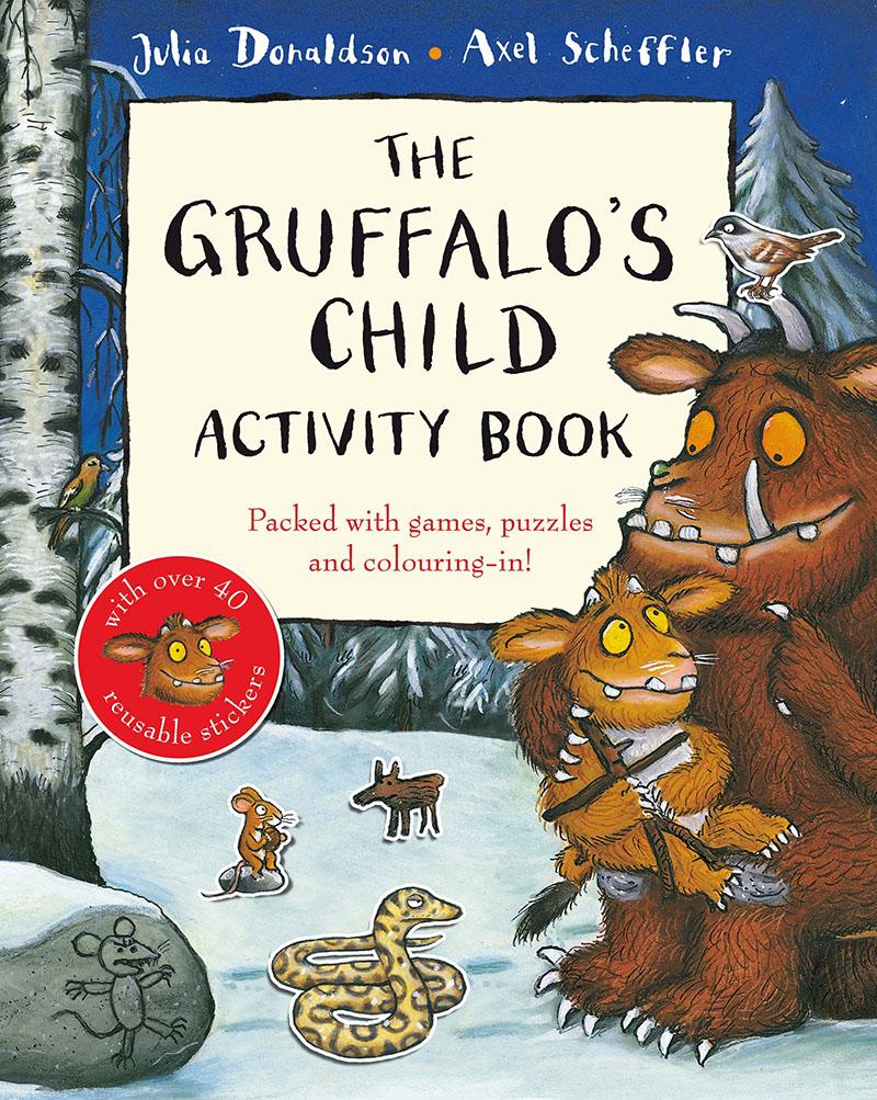 The Gruffalo's Child Activity Book - Jacket