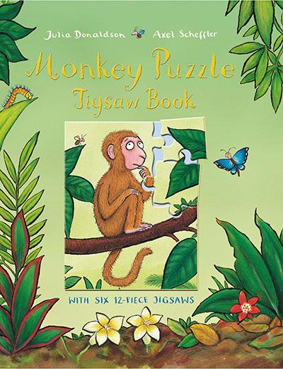 Monkey Puzzle Jigsaw Book - Jacket