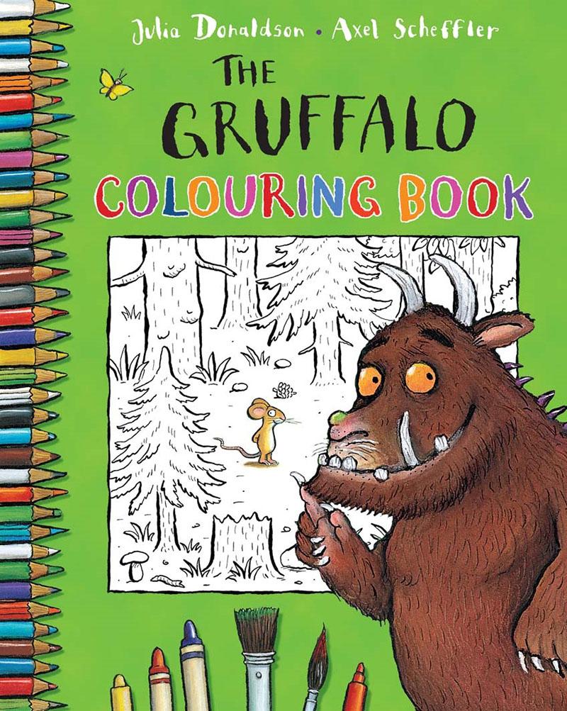 The Gruffalo Colouring Book - Jacket