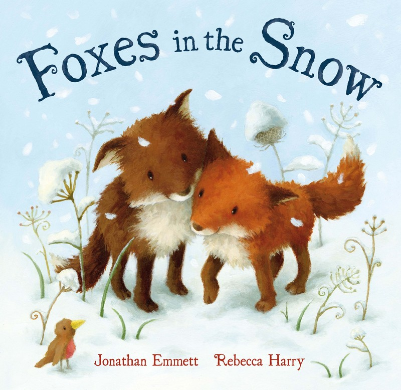 Foxes in the Snow - Jacket