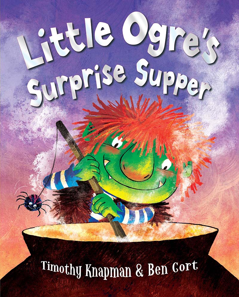 Little Ogre's Surprise Supper - Jacket