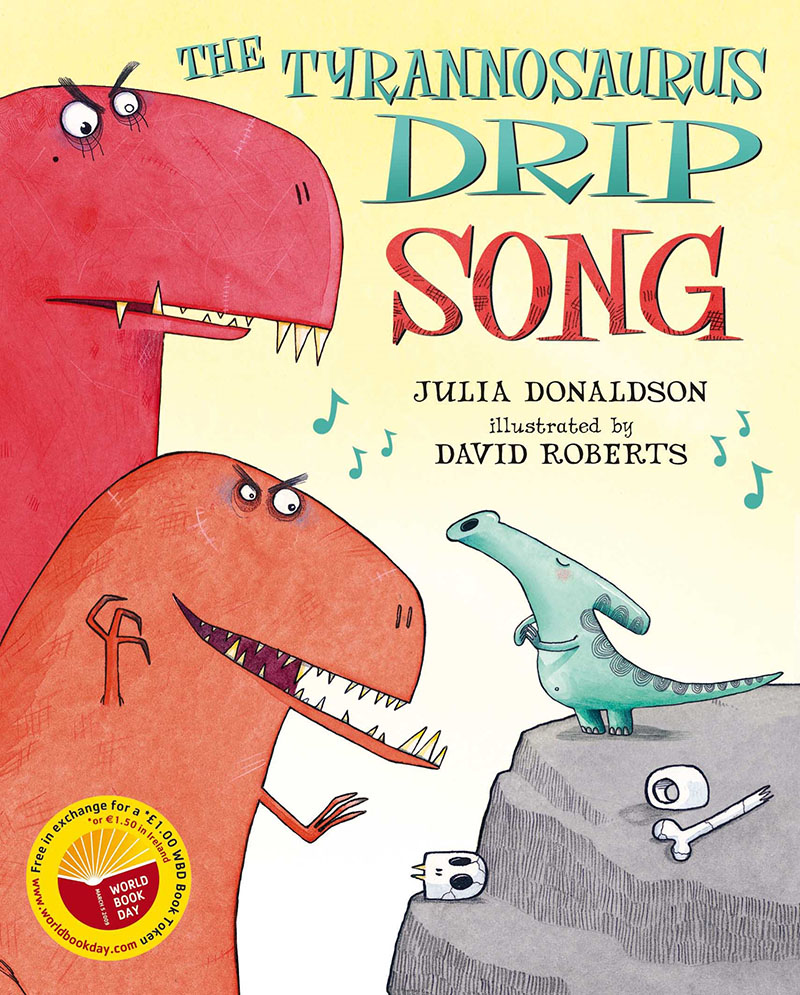 The Tyrannosaurus Drip Song (for World Book Day) - Jacket