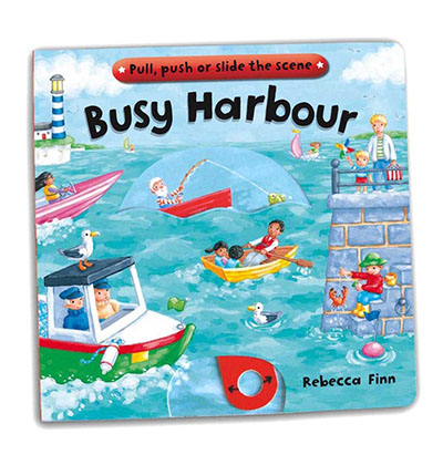 Busy Books: Busy Harbour - Jacket
